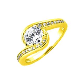 Inel de logodna din aur, cod 01-467L